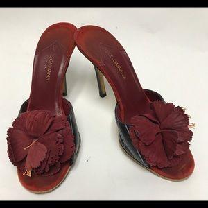Dolce&Gabbana Flower Sandals